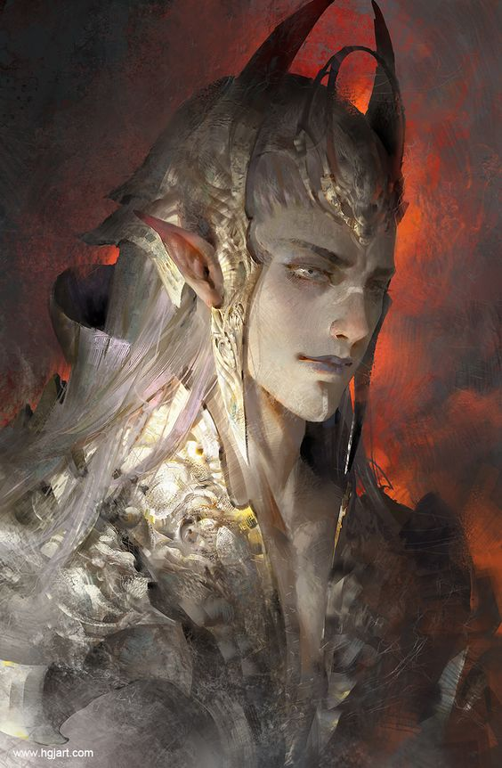 Elf prince by Guangjian Huang